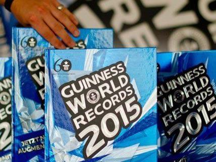 Bei seinem Rekordversuch will der Wiener ins Guinness Buch.