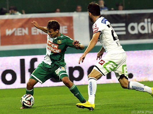 Rapid begegnet am Samstag auswärts Sturm Graz.