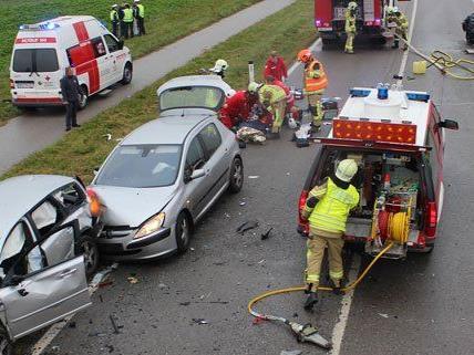 Schwerer Unfall in Vösendorf