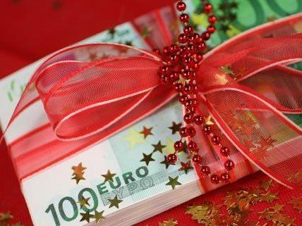 Geldgeschenke sind dieses Jahr am beliebtesten.
