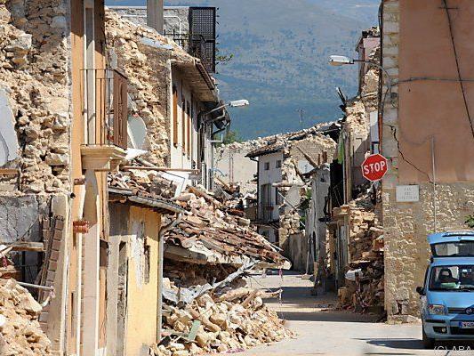 Das Beben hatte 2009 verheerende Folgen