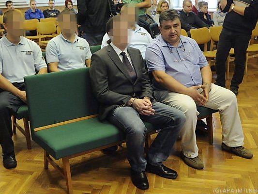 Der Kärntner beim Prozess in Szeged
