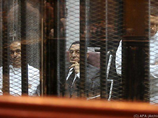 Mubarak droht die Todesstrafe