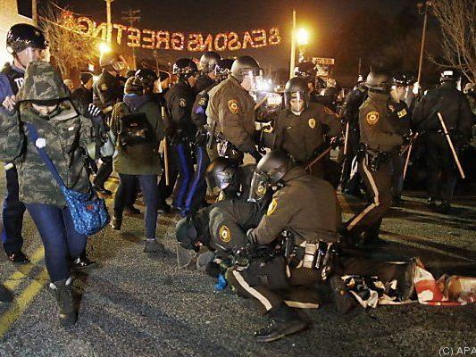 Polizei löste Demonstration aus