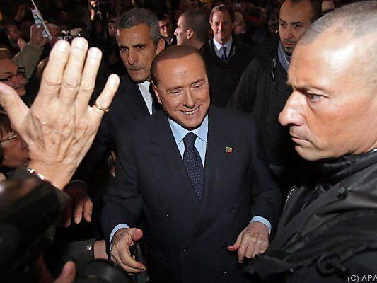 Berlusconi fühlt sich im Aufwind