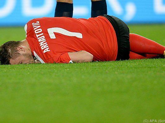 Arnautovic soll trotz Handbruch spielen