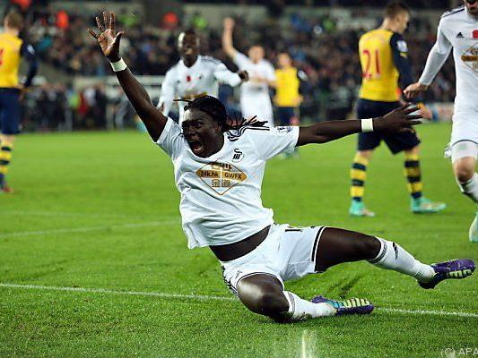 Gomis erzielt Siegestreffer für Swansea
