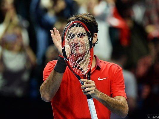 Federer schlug Milos Raonic