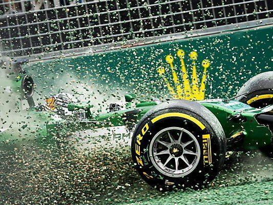 Schwieriges Formel-1-Jahr für Caterham