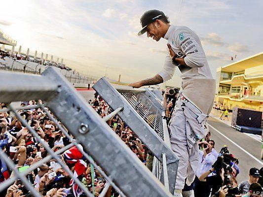 Hamilton ist Teil der Mercedes-Familie