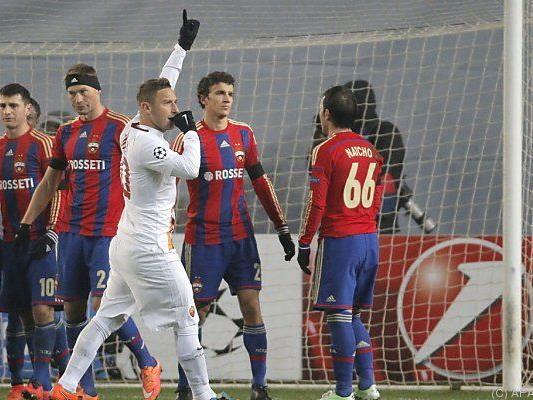 Totti ältester Torschütze der Champions League