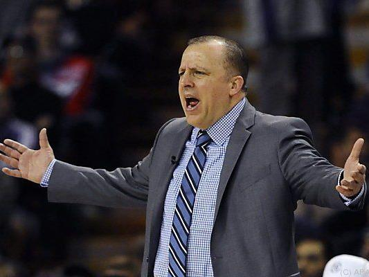 Bulls-Coach Tom Thibodeau kann es kaum glauben