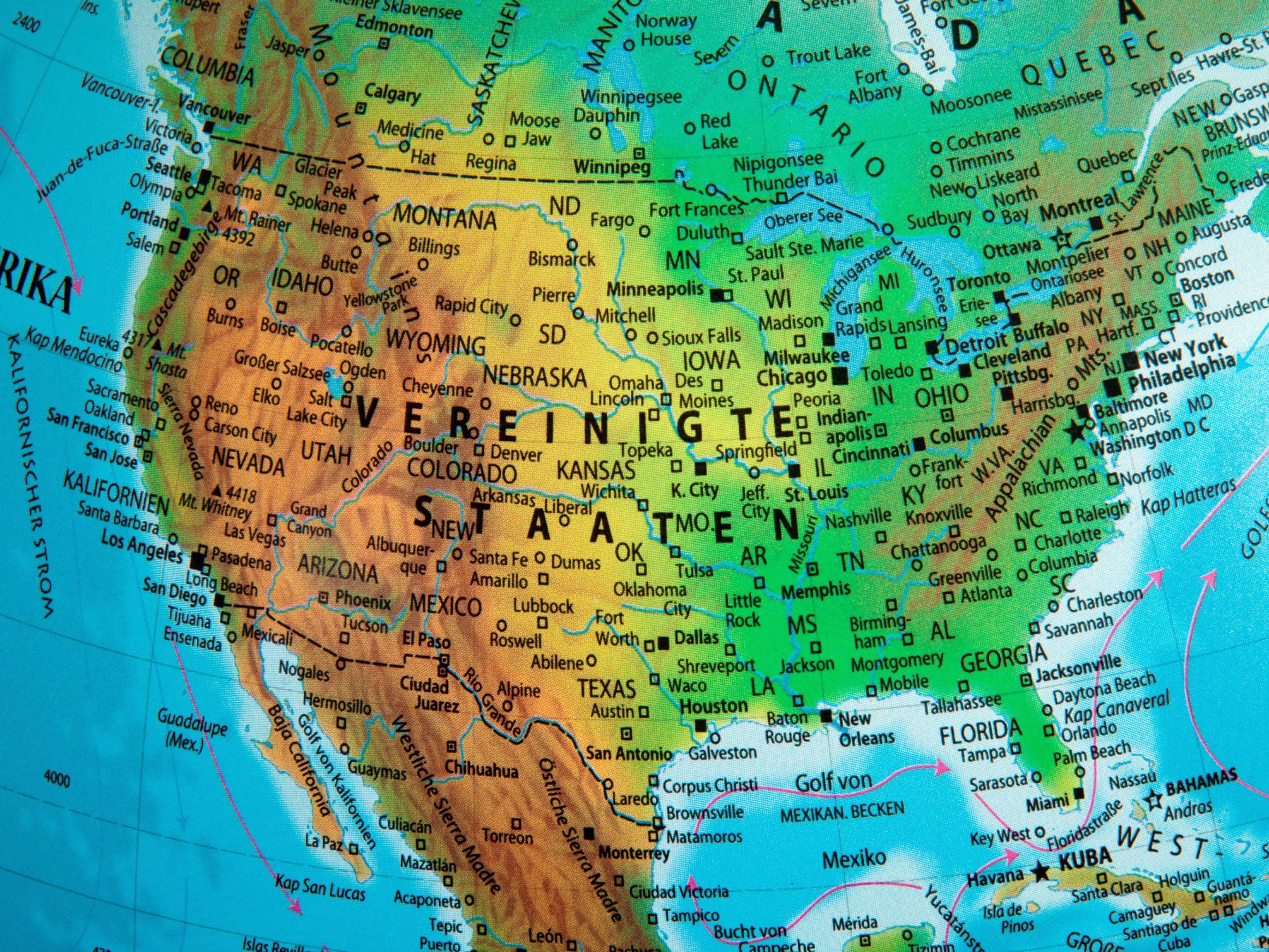 Die Reiseziele des Kanadiers strecken sich von Amerika über Europa bis nach Asien