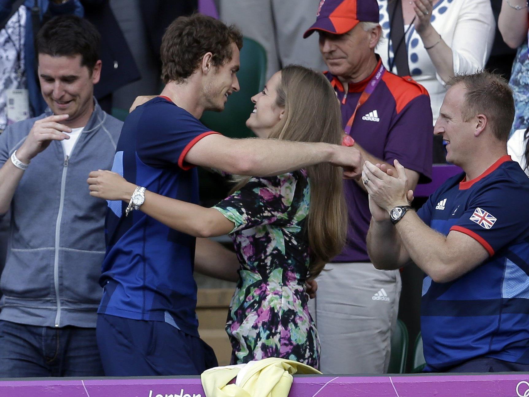 Tennis: Wien-Sieger Andy Murray privat im Glück