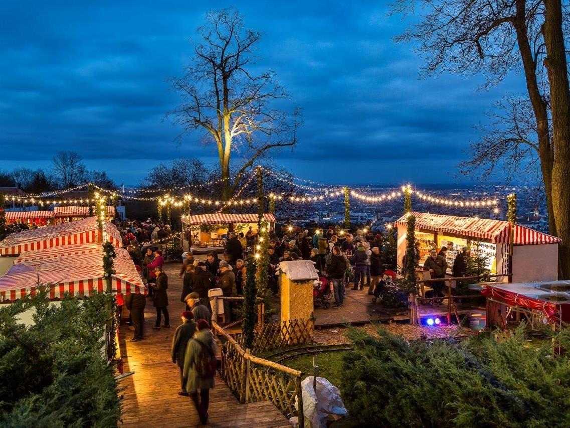 Am 13. November 2015 eröffnet der Weihnachtsmarkt am Wilhelminenberg.