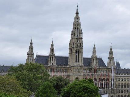 Die Wiener Homosexuelle Initiative feiert ihr Jubiläum im Rathaus.
