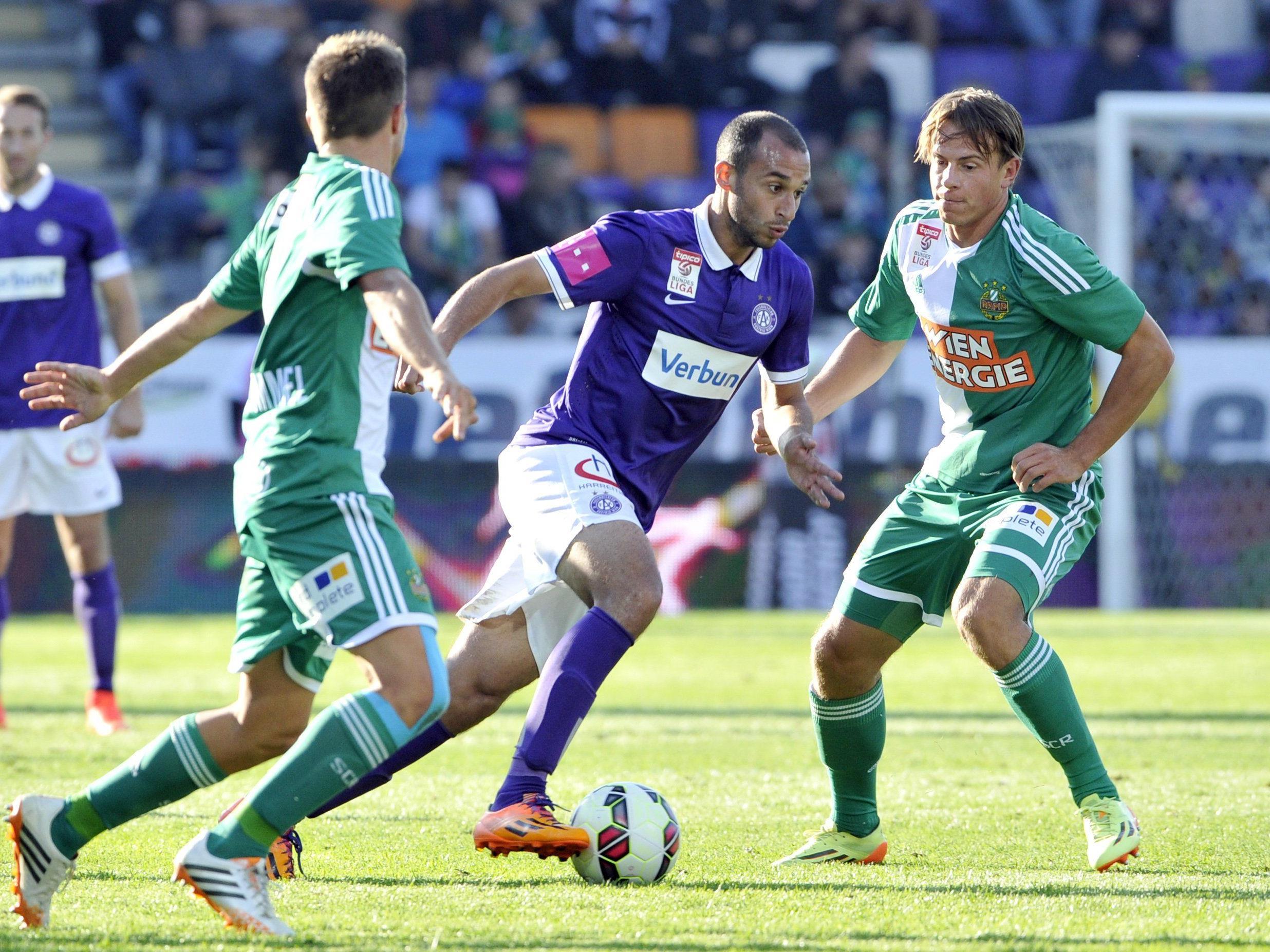 LIVE-Ticker zum Spiel SK Rapid Wien gegen FK Austria Wien ab 14.30 Uhr.