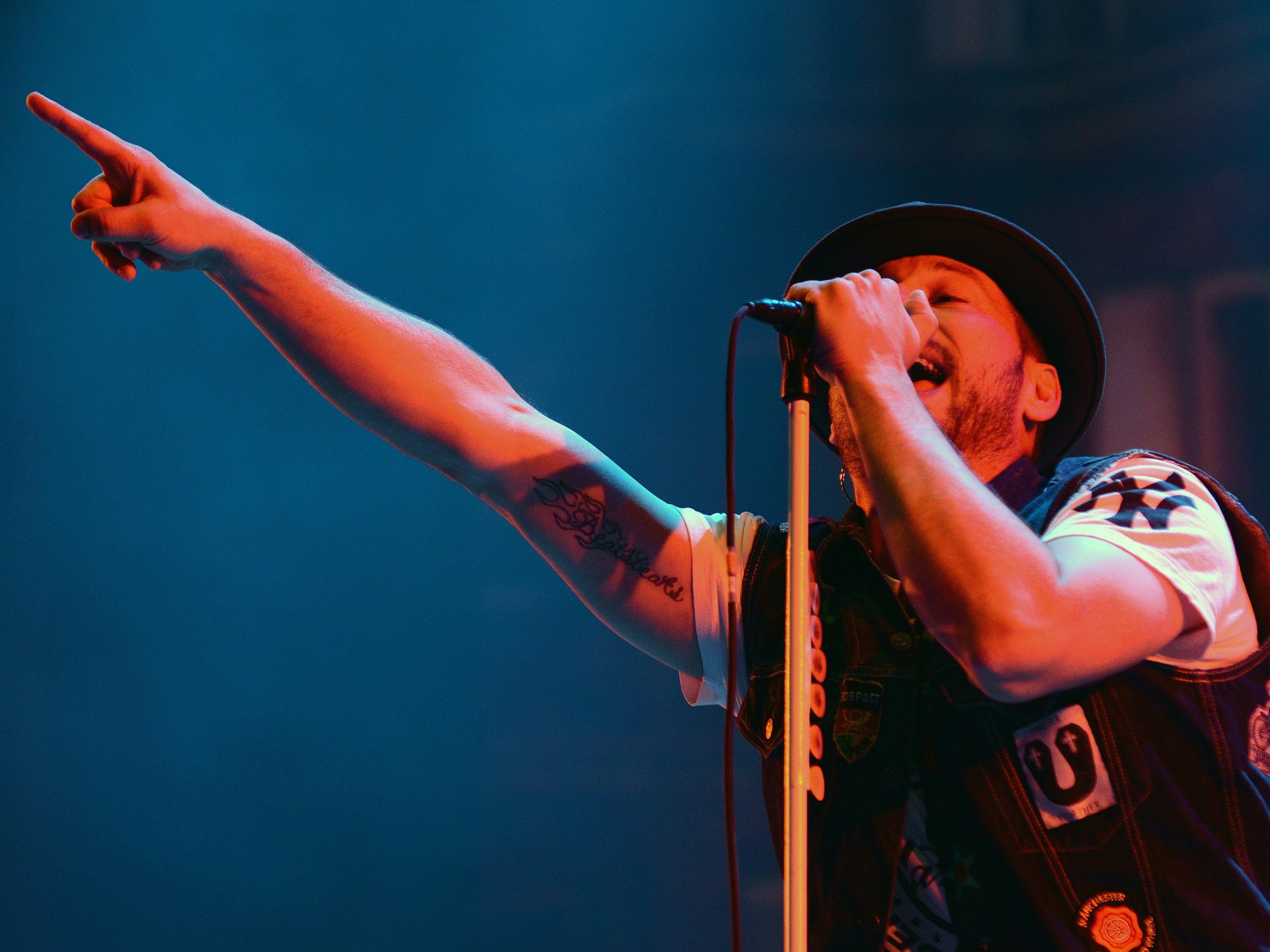 Die Beatsteaks begeisterten ihre Fans bei den beiden Wien-Konzerten.