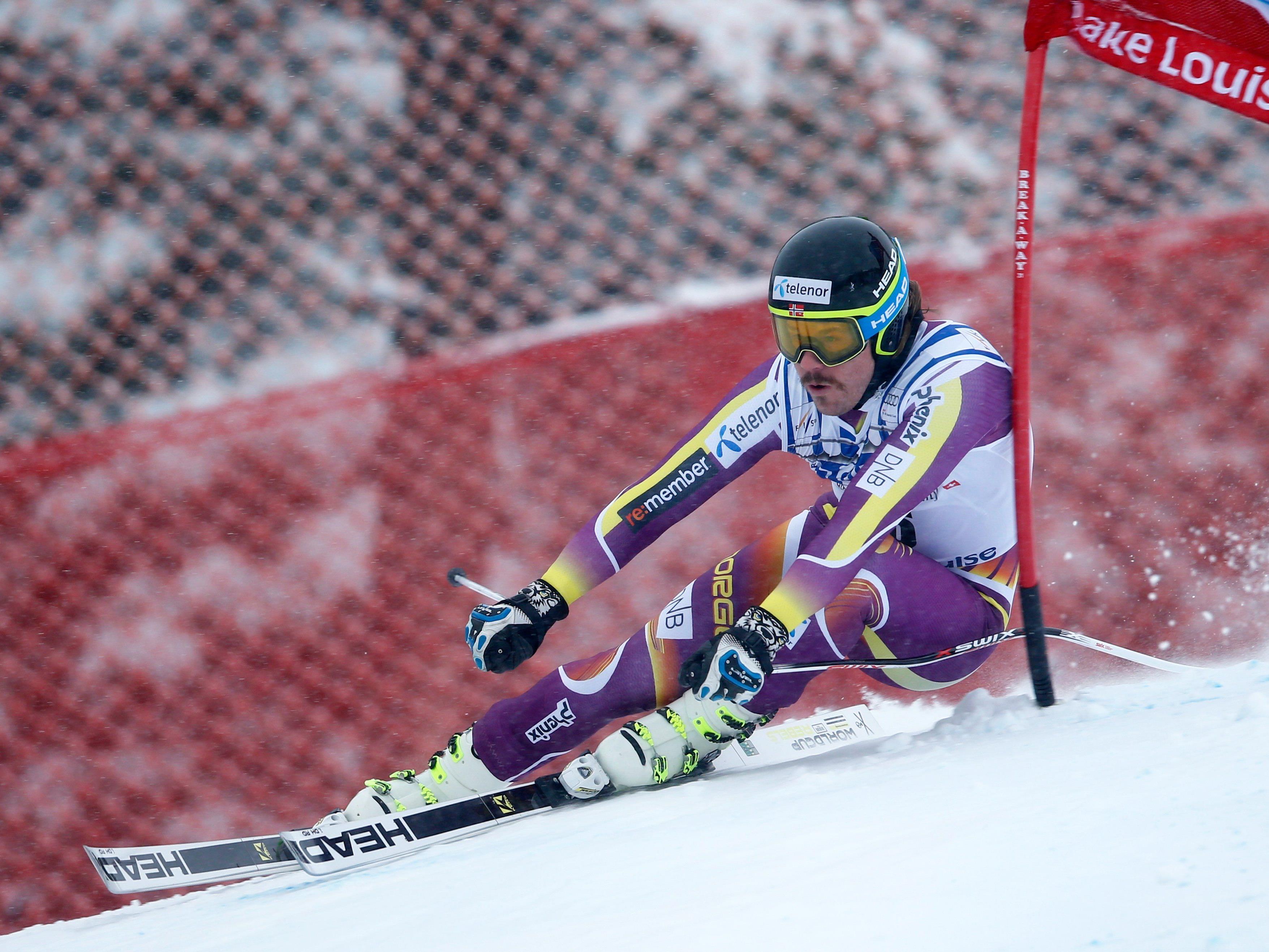Kjetil Jansrud holte sich den Sieg in der ersten Saisonabfahrt.