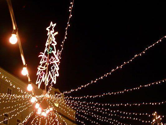 Weihnachtsbeleuchtung - ein kostspieliges Vergnügen