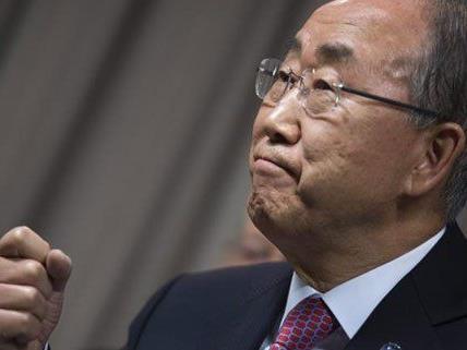 Ban Ki-moon ruft zum Beendigung von Diskriminierung und Ungleichheit auf.