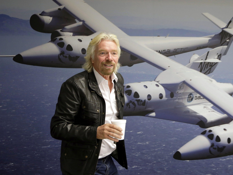 Richard Branson: Hunderte Firmen gehören zu seinem Unternehmen Virgin Group.