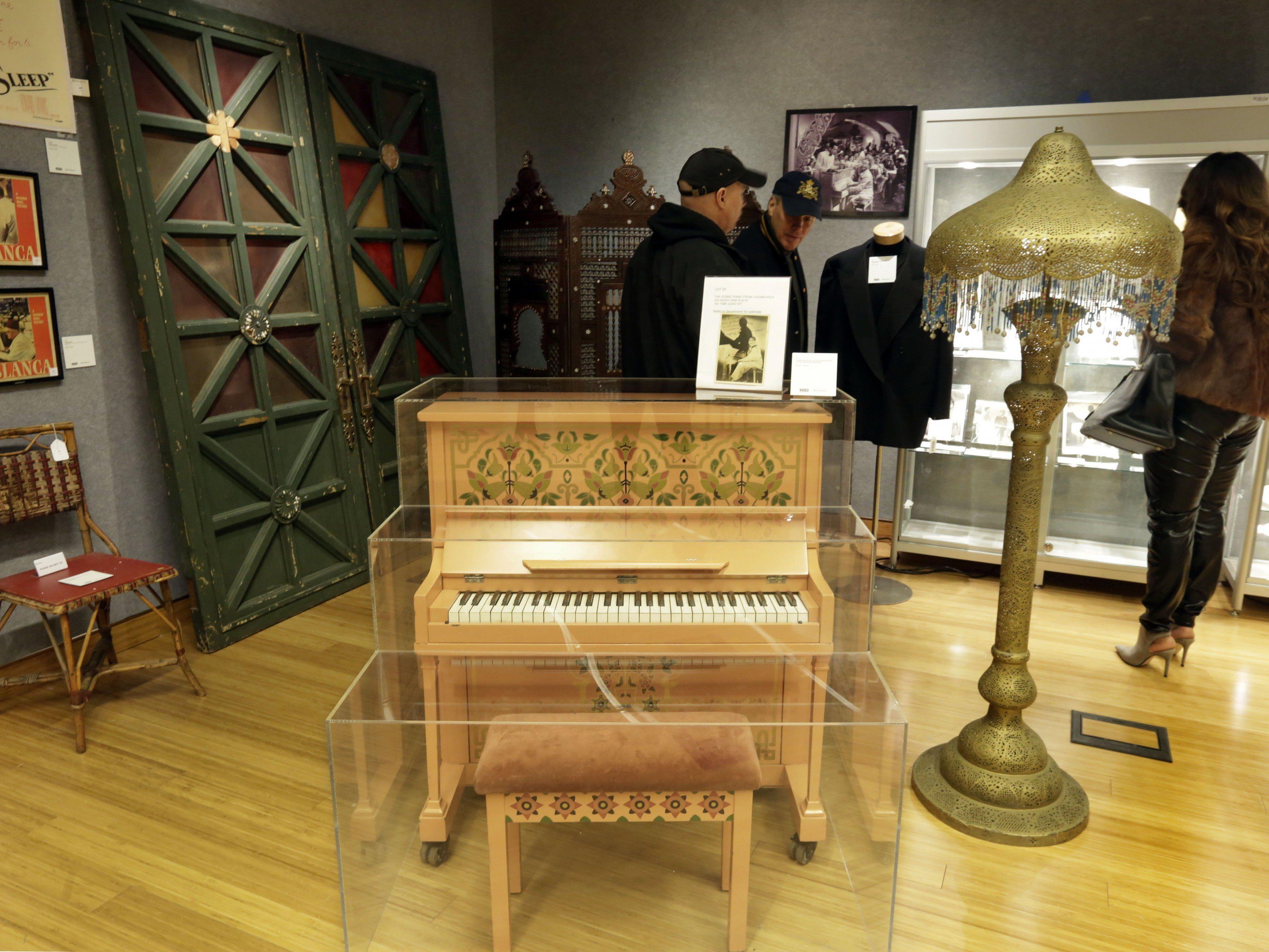 Das Piano besitzt nur 58 Tasten.