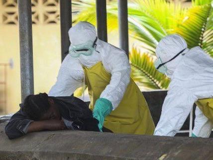 Einer Wiener Arzt kämpft in Liberia gegen den Ausbruch der Ebola Epidieme.