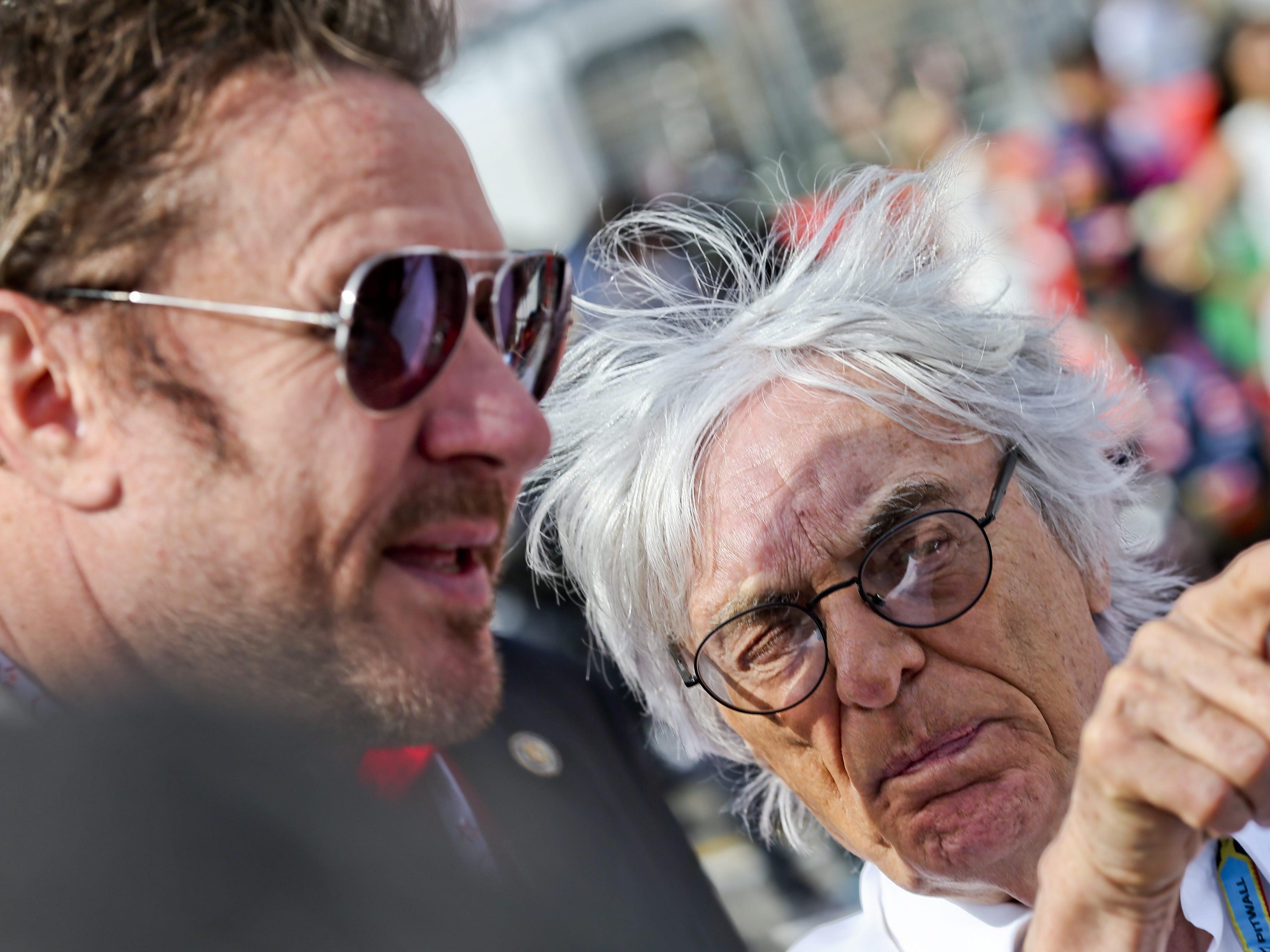 Für die Teams Caterham und Marussia sieht Bernie Ecclestone keine Chance mehr - von einer Krise der Formel 1 will er aber nichts wissen.