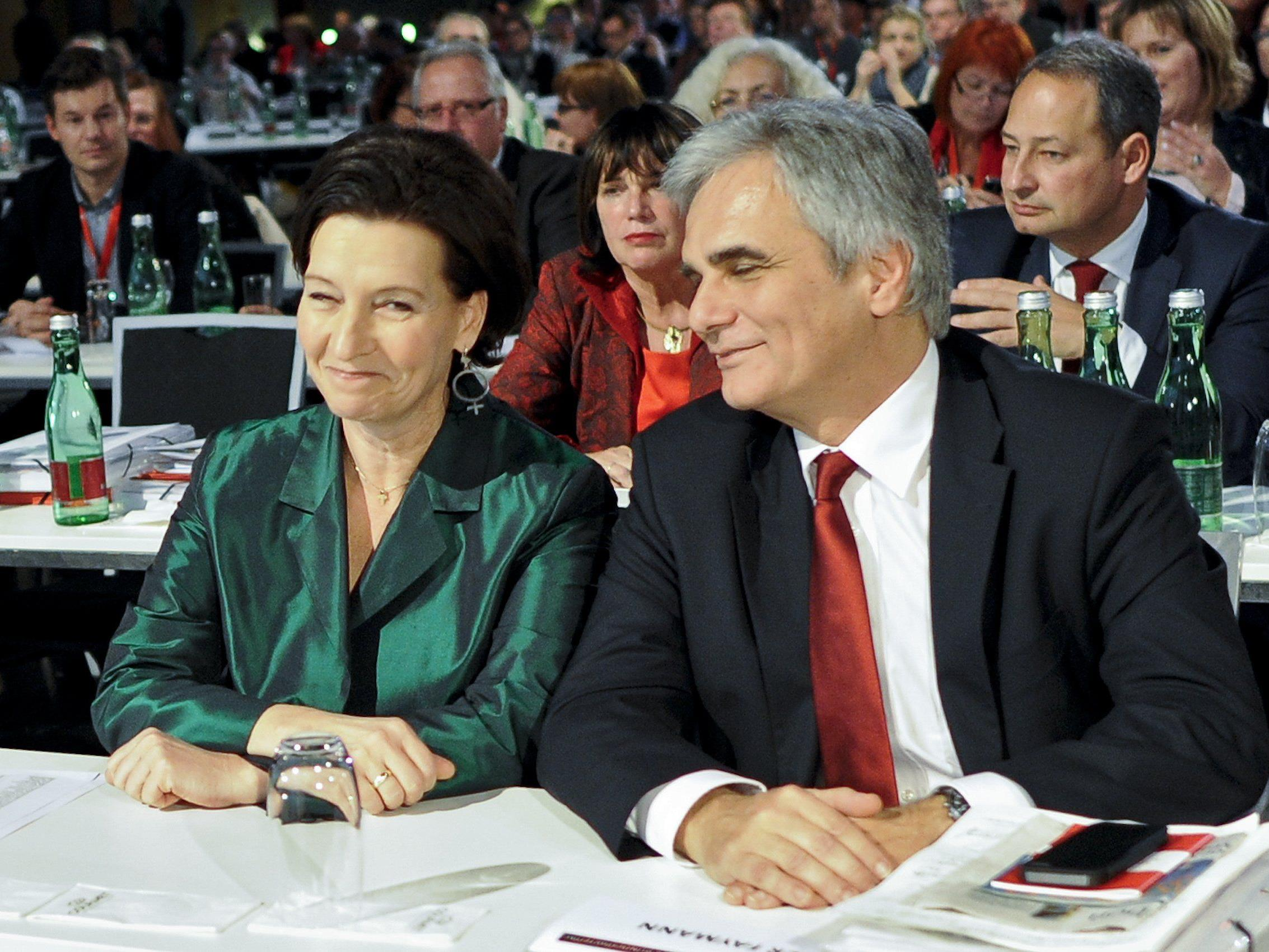 SP-Parteitag: Niessl für Steuerreform oder Neuwahlen