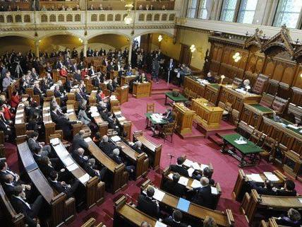 Der Wiener Gemeinderat fixiert das Budget für 2015.