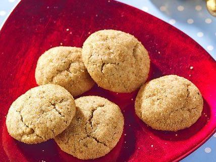 Diese Lebkuchen-Kekse sind vegan.