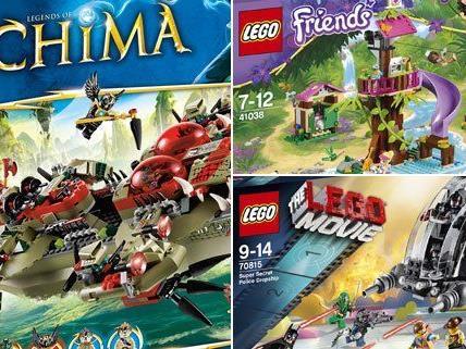 Diese drei LEGO-Sets werden verlost.