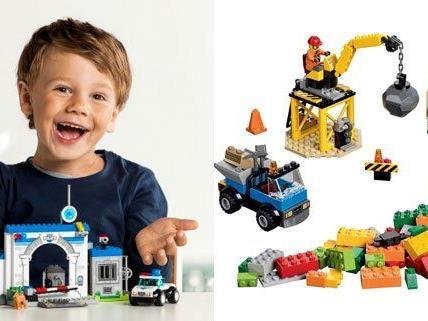 Die Produkte von LEGO Juniors sind für Kinder von 4 bis 7 Jahren gedacht.