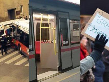 Auch im November haben die Leserreporter von VIENNA.at von zahlreichen Vorfällen und Events in Wien berichtet.