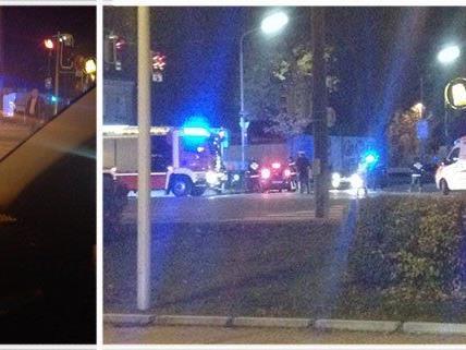 In Floridsdorf beobachtete ein Leserreporter einen Unfall.