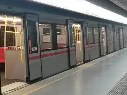 In der U3 Station Schweglerstraße kam es zu einer starken Rauchentwicklung.