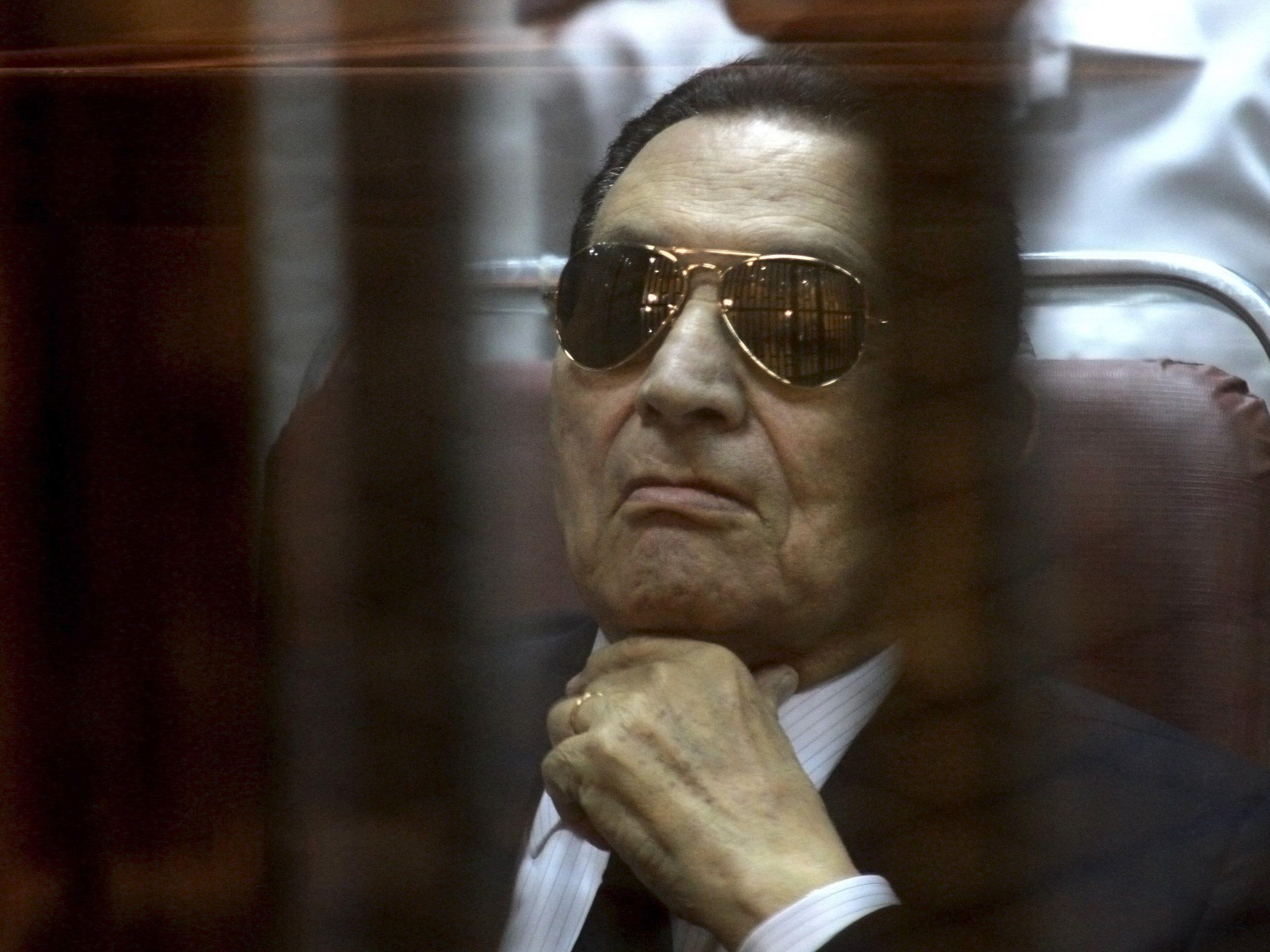 Prozess gegen Ägyptens ehemaligen Herrscher aufgehoben.