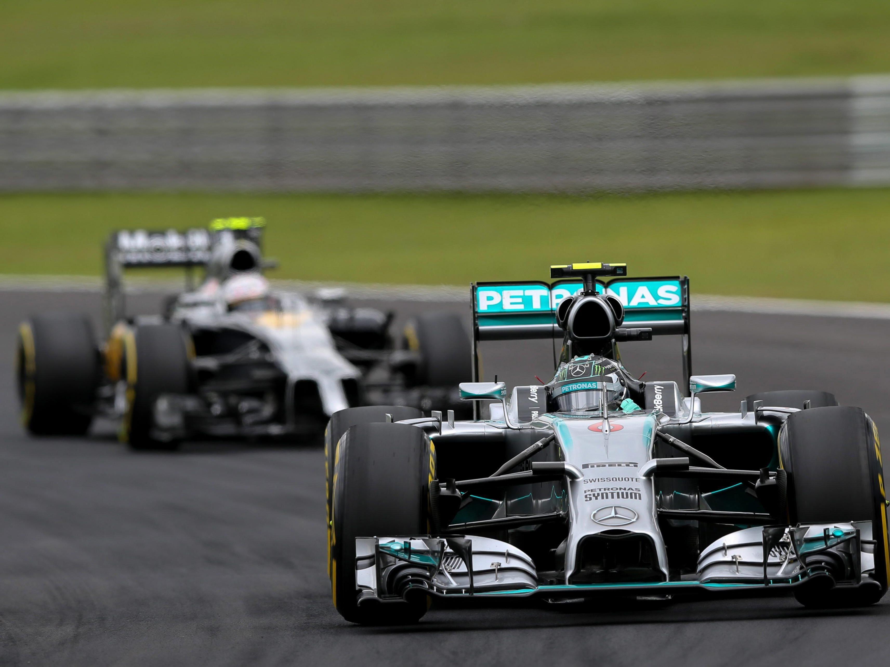 Nico Rosberg will in Interlagos den Kampf um den Fahrertitel offen halten.