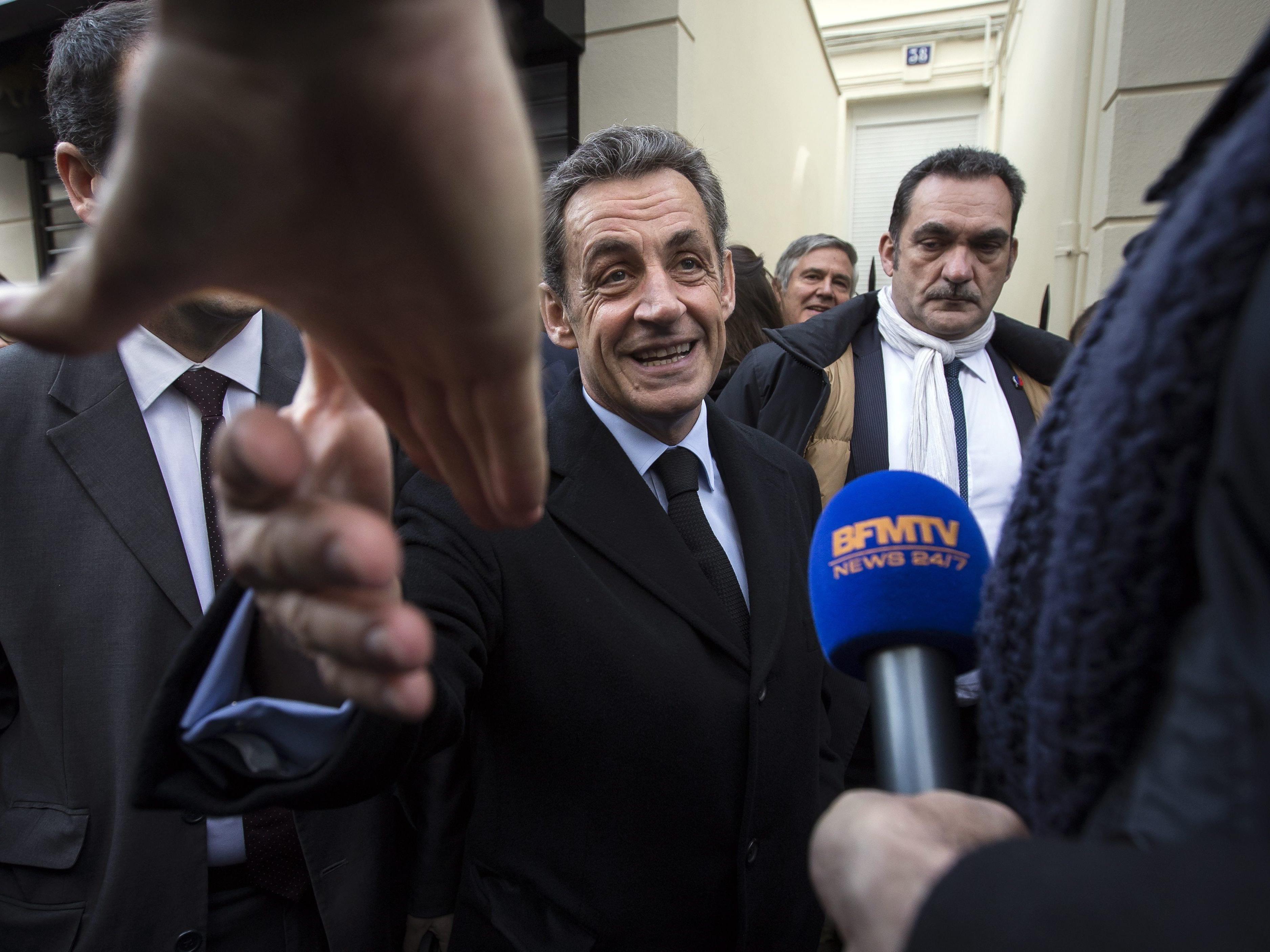Sarkozy dürfte eine Kandidatur bei den französischen Präsidentschaftswahlen 2017 anstreben.
