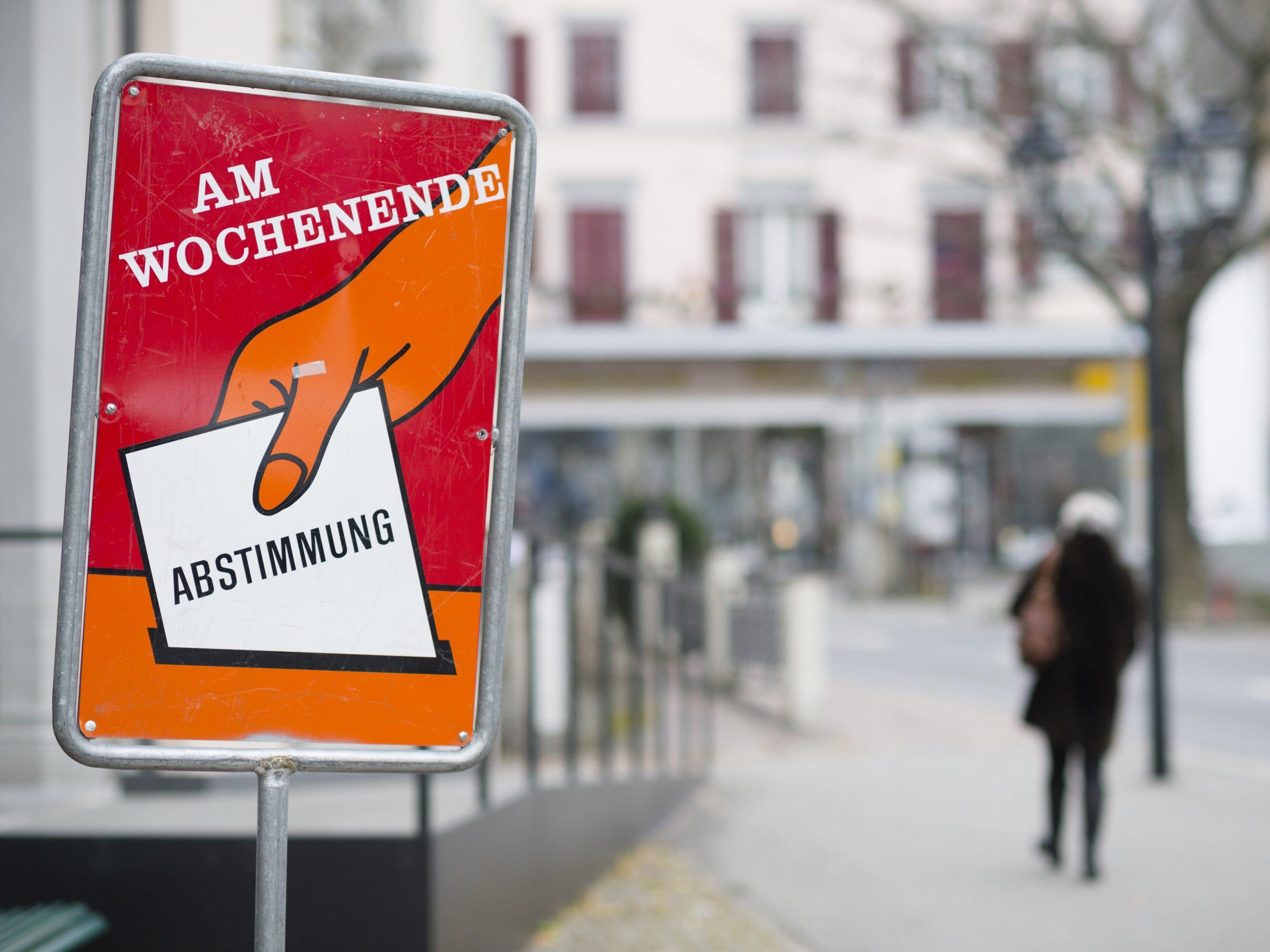 Die Schweizer sind zur Abstimmung aufgerufen.