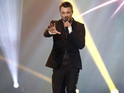 """Damals versuchte es Daniel Kajmakoski bei """"Starmania"""", nun will er für Mazedonien den ESC gewinnen."""