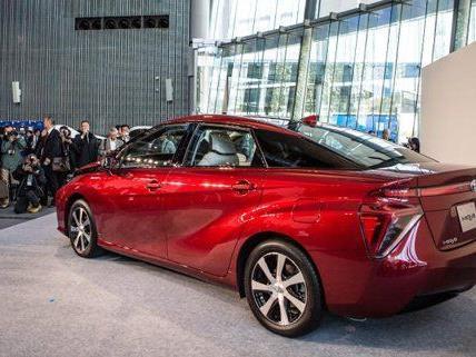 Toyotas Mira wird wohl erst 2016 auf Österreichs Straßen zu sehen sein.