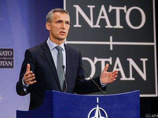 Generalsekretär Stoltenberg erläutert Strategie