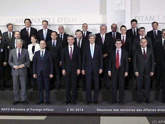 Die NATO-Außenminister trafen sich in Brüssel