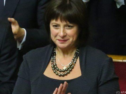 Natalia Jaresko (USA) ist neue Finanzministerin