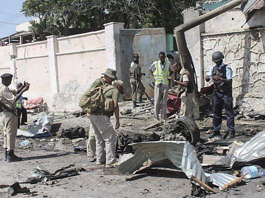 Immer wieder Anschläge in Hauptstadt Mogadischu