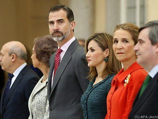 Felipe VI. will guten Ruf wiederherstellen