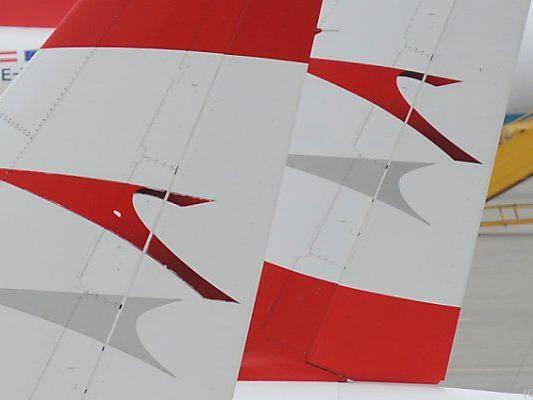 Austrian-Airlines-Maschine in Nöten