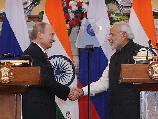 Putin zu Besuch in Neu Delhi